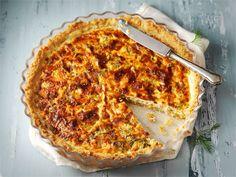 Kylmäsavulohipiiras Macaroni And Cheese, Pizza, Baking, Breakfast, Ethnic Recipes, Desserts, Food, Quiches, Tarts