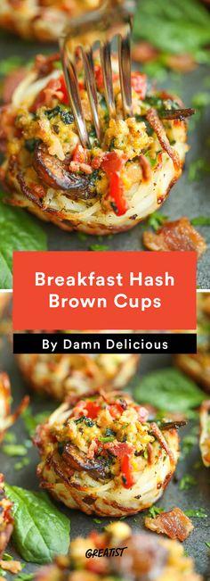 Breakfast Hash Brown Cups