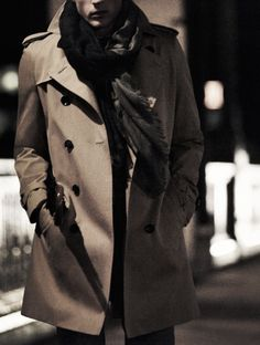 Burberry Trench...allI need in life.