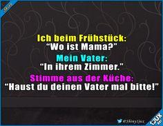 Männer werden eben nie erwachsen ^^ #Scherz #witzig #necken #Eltern #lustig #Spaß #Spass