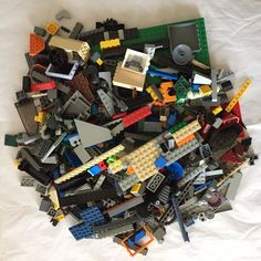 LEGO 1 KG ASSORTMENT OF BRICKS PARTS AND PIECES (LEGO #5)  | eBay