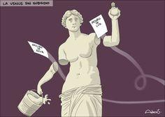 Caricatura Alecus, La Venus sin subsidio