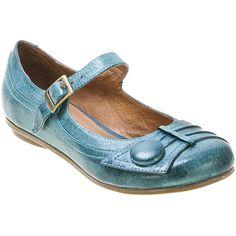 Buy Blue Green Whisky Black Miz Mooz Women's Dulce Flat Shoe shoes