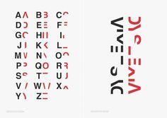 Typographic Posters to Help Us Better Understand Dyslexia – Fubiz Media