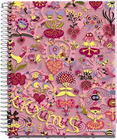 Kukuxumusu Medium 4 Subject Polypropylene Notebook - Spring