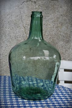Vintage Green Bottle French Demijohn by FromParisToProvence, €37.00