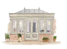 Image result for small orangery designs