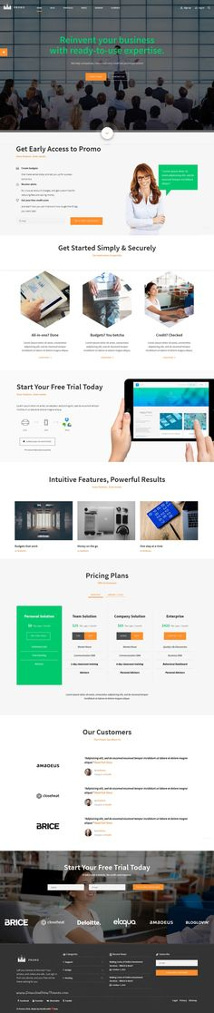 PROMO is wonderful premium 10 in 1 #Bootstrap #SAAS #startup #template for corporate business marketing website download now➝ https://wrapbootstrap.com/theme/promo-corporate-marketing-template-WB0HBPD5X?ref=datasata