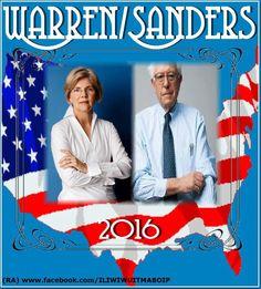 Vice President Warren w President Sanders
