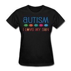 Autism I Love My Son Tee Shirts