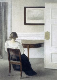 The Perfect Thing: Danish interiors paintings
