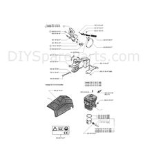 diagrams of chainsaws photos of chainsaw husqvarna parts. Black Bedroom Furniture Sets. Home Design Ideas