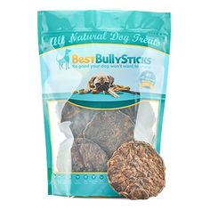 Hamburger Dog Snacks by Best Bully Sticks 25 Pack Sourced from AllNatural Free Range Grass Fed Beef  Full of the Real Meaty Flavor Dogs Love and Packed with Protein to Support a Healthy Diet * You can get more details by clicking on the image.