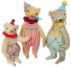 jada111:  Handmade dolls and softies. / Jennifer Murphy Bears