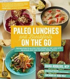 boek: paleo lunches and breakfasts on the go
