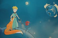 Private Commission by a fan of the adorable classic novel The Little Prince. The Little Prince, All Art, Illustrations Posters, Cinderella, Disney Characters, Fictional Characters, Novels, Fan, Disney Princess