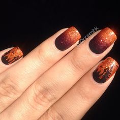 halloween by noemihk  #nail #nails #nailart