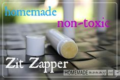 Homemade 2 Ingredient Zit Zapper