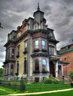 1874 Second Empire For Sale In Hudson New York — Captivating Houses