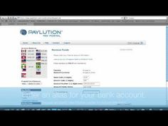 hyperWALLET Demo Series: Paylution Pay Portal - Setup new bank account