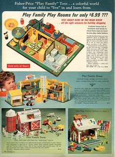 1971 Sears Catalog - My brothers had one of these barns but all this stuff got passed down since their were 5 of us kids in my family.