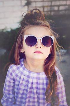 Sunnies #kidssunglasses #chasinivy Kids Sunglasses, Mirrored Sunglasses, Checkerboard Pattern, Girls Accessories, Short Girls, Beautiful Babies, Gingham, Sunnies, Girl Outfits