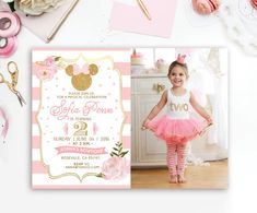 Hey, I found this really awesome Etsy listing at https://www.etsy.com/listing/399504325/pink-gold-glitter-minnie-mouse-photo