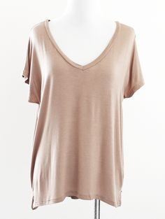 Tautmun - GOYGOL V NECK TEE - TAUPE, $12.99 (http://www.tautmun.com/goygol-v-neck-tee-taupe/)