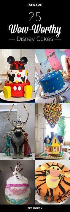 http://www.echopaul.com/ Make It a Magical Day With 25 Wow-Worthy Disney Cakes