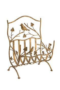 Vintage Decor Revamp Birdy Magazine Rack by Home