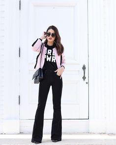 """Camila Coelho on Instagram: """"Blogged! www.camilacoelho.com (Loving my @shoptwosongs """"GRL PWR"""" t-shirt) ------- Look que usei ontem já está no Blog, Vaidosas!!! Vem conferir os detalhes!"""""""