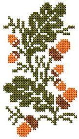 Cross Stitch 1 - Set 3 : My Embroidery Haven Cross Stitch Beginner, Fall Cross Stitch, Cross Stitch Tree, Cross Stitch Bookmarks, Cross Stitch Heart, Cross Stitch Cards, Cross Stitch Borders, Cross Stitch Alphabet, Cross Stitch Animals