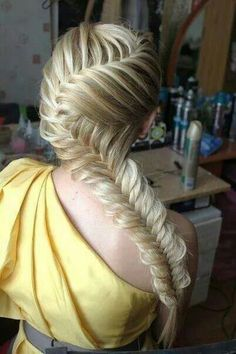 Love fishtail braids this one is super cute though