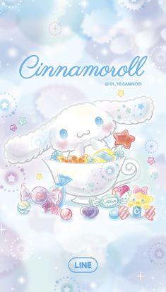 Sanrio Wallpaper, Hello Kitty Wallpaper, Wallpaper Iphone Disney, Kawaii Wallpaper, Lines Wallpaper, Cute Wallpaper Backgrounds, Kawaii Chibi, Kawaii Cute, Sanrio Characters