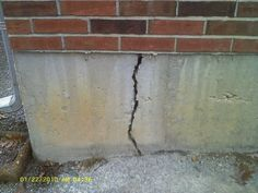 Know The Difference Between Vertical And Horizontal Cracks In A Home.  #RealEstate #Foundation #blog