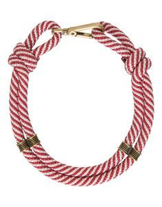 Gargantilha Corda Red LOOL Mais Fabric Bracelets, Fabric Necklace, Knot Necklace, Fabric Jewelry, Handmade Bracelets, Rope Jewelry, Back Jewelry, Bijou Box, Craft Accessories