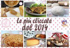 LE RICETTE PIU CLICCATE DEL 2014