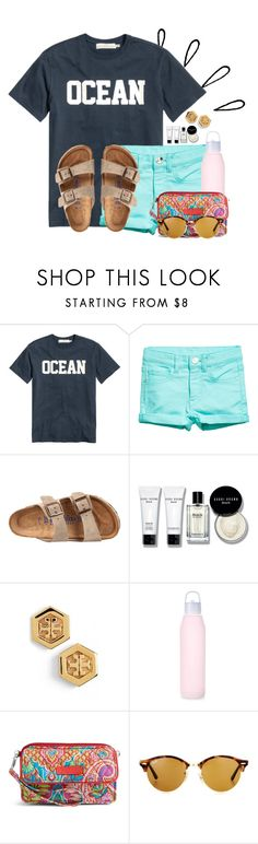 """My first blog description! Please RTD❤"" by flroasburn ❤ liked on Polyvore featuring Old Navy, H&M, Birkenstock, Bobbi Brown Cosmetics, Tory Burch, Vera Bradley and Ray-Ban"