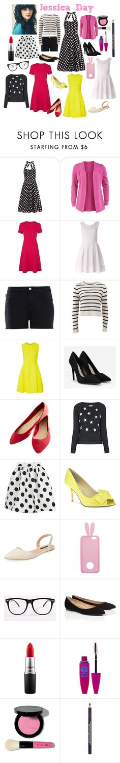 """""""jess day inspired outfits"""" by lizzynupa ❤ liked on Polyvore featuring Manon Baptiste, Tommy Hilfiger, Love Moschino, Brunello Cucinelli, Lela Rose, CHARLES & KEITH, Wet Seal, Sundry, Nina and Ava & Aiden"""