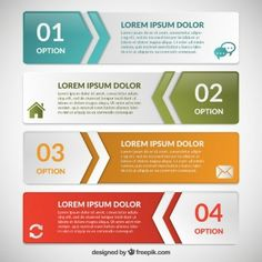 Infographic banners template