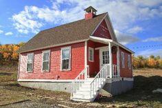 Hilton Gulch School, Routt County, County Road 41 and 41A North of Colorado 131.