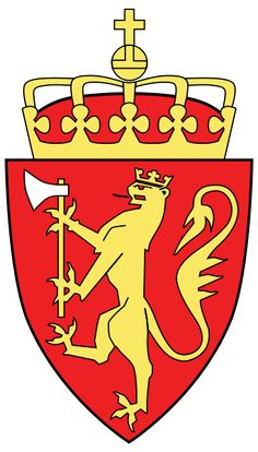 Hi there! Meet Norway's Coat of Arms!   Majestic, eh?