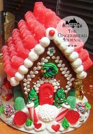 Image result for animal gingerbread house