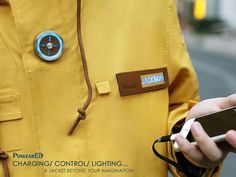PowearIN: Smart Jacket Also Charges Your Phone