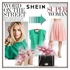 """""""Shein 8"""" by munevera-berbic ❤ liked on Polyvore featuring shein"""