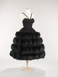 Dress  Norman Norell, 1958  The Metropolitan Museum of Art