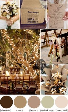 Rustic Fall Autumn Wedding Ideas