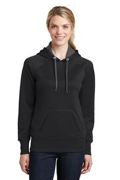 Sport-Tek® Ladies Tech Fleece Hooded Sweatshirt. LST250