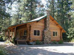 Just love log cabins!