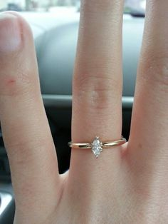 I think this is cute and adorable. Would make a fabulous engagement ring, accompany with a band of diamonds for a wedding band ❤️